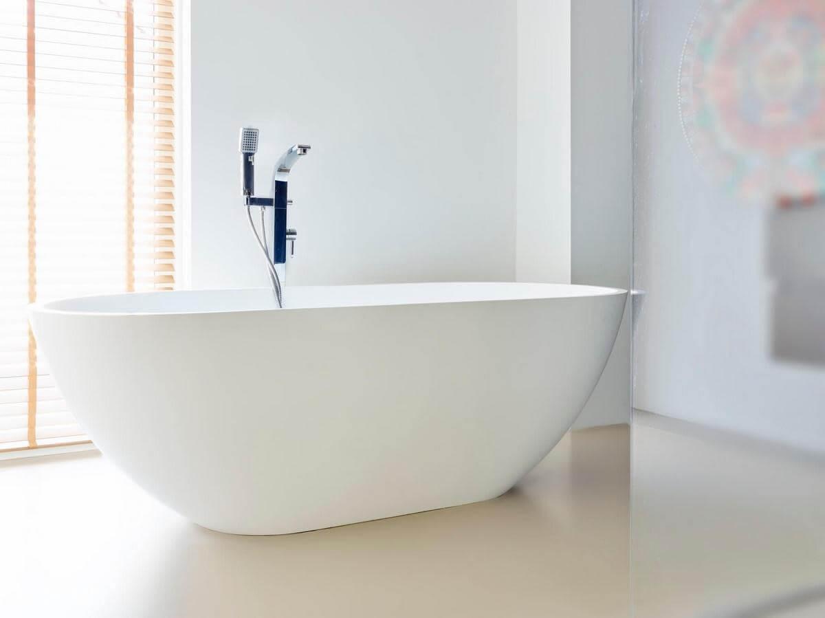 Badkamer Met Gietvloer : Een gietvloer in de woonkamer badkamer en of slaapkamer fusion